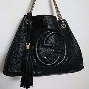 GUCCI SOHO LEATHER TOTE